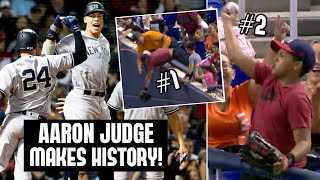 Aaron Judge MAKES MLB HISTORY!? Fan Catches Two Foul Balls In ONE At-Bat (MLB Recap)