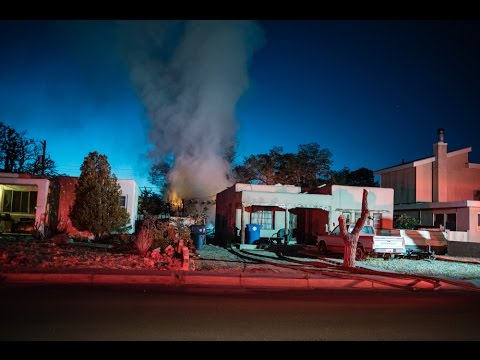 House fire in southeast Albuquerque