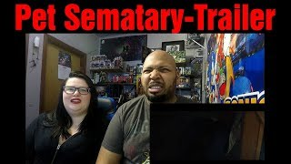 React to Pet Sematary Official Trailer 2 Paramount Pictures UK (Reaction)