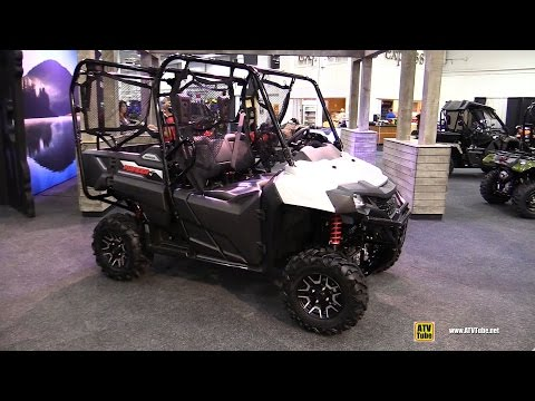 2017 Honda Pioneer 700 4 Side by Side ATV - Walkaround - 2016 Toronto ATV Show