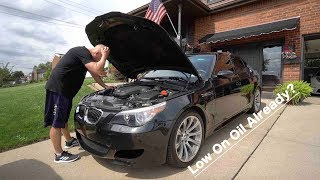 """My """"Unreliable"""" BMW M5 Started Acting Unreliable On The First Day.."""