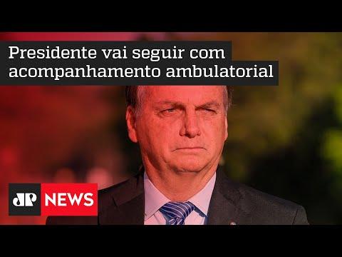 Bolsonaro recebe alta hospitalar em São Paulo neste domingo