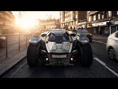 Gumball 3000 Convoy with Team Galag Batmobile, MB AMG TG3, Brabus G6000 & Team Betsafe - MCR to LDN