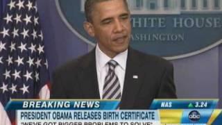 Barack Obama Releases Birth Certificate, Donald Trump 'Proud'