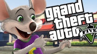 THE NEW CHUCK E CHEESE MOD (GTA 5 PC Mods Gameplay)