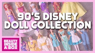 90's Disney Doll Collection - Beauty Inside A Box