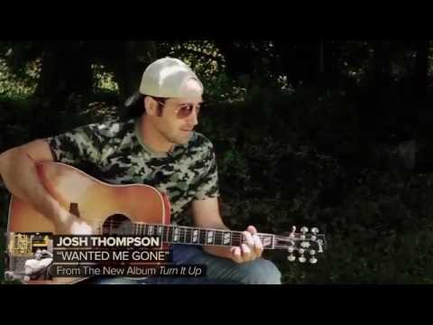 "Josh Thompson - ""Wanted Me Gone"" TouchTunes Exclusive"