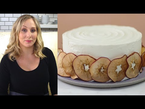 Delicately Spiced Apple Layer Cake with a Rich Cream-Cheese Frosting | Frosted