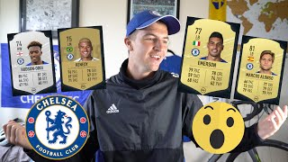 FIFA 20 Ultimate Team CHELSEA Player Ratings REACTION