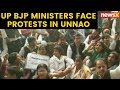 Uttar Pradesh BJP Ministers face protests in Unnao | NewsX