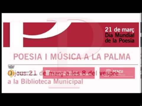 Dia Mundial Poesia 2013 a La Palma de Cervello