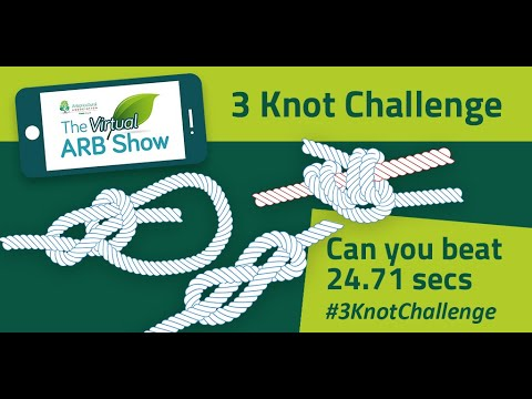 Take the 3 Knot Challenge! Virtual ARB Show 2020