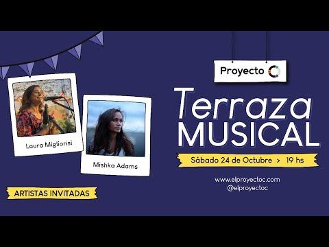 Terraza Musical en Proyecto C: Ronda de Canciones