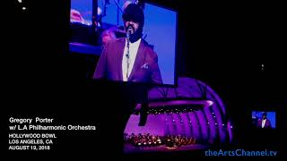 Gregory Porter at the Hollywood Bowl