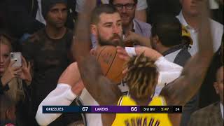 Dwight Howard Full Play 10/29/19 Memphis Grizzlies vs Los Angeles Lakers | Smart Highlights
