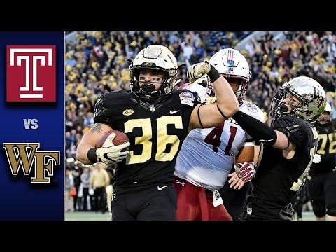 Temple Owls vs Wake Forest