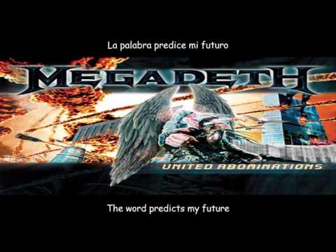 Megadeth  Washington is next  lyrics y subtitulos en español