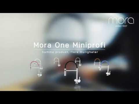 Mora One Miniprofi sort (No)