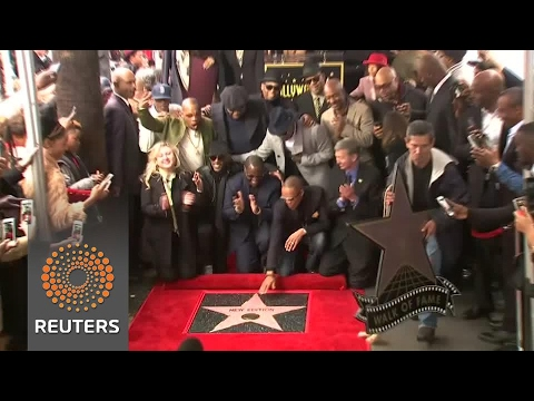 New Edition gets permanent spot in Hollywood
