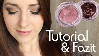 Beauty by oOMauMouseOo –  Catrice | Velvet Matt Eyeshadow | Tutorial & Fazit