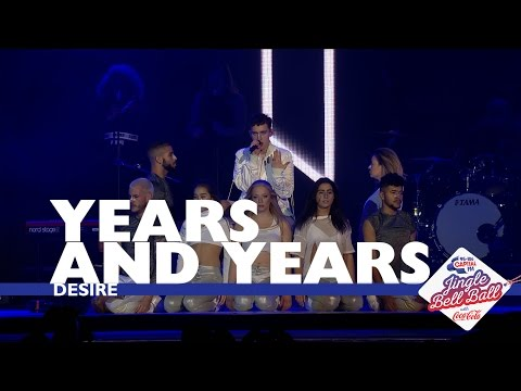 Years And Years - 'Desire' (Live At Capital's Jingle Bell Ball 2016)