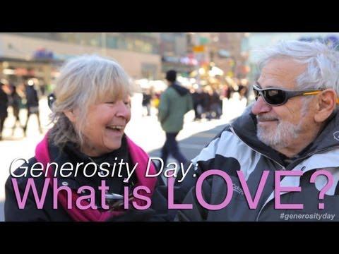 What is LOVE? | Generosity Day