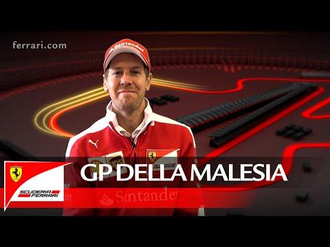 Il GP della Malesia con Sebastian Vettel – Scuderia Ferrari 2016