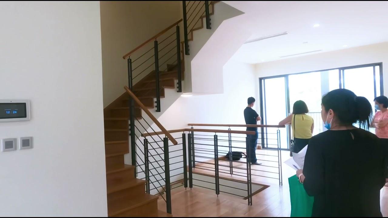 Cho thuê shophouse phố đi bộ 5 tầng, có tầng lửng làm showroom và văn phòng. Lh 091.565.8386 video