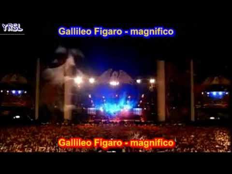 Bohemian Rhapsody - Queen -  Elton  John -  Axl Rose ( SUBTITULADO INGLES - ESPAÑOL )
