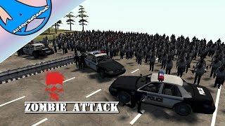 ZOMBIES ATTACK ! - Men of war assault squad 2[red rising mod movies scenario #6][FR/ENG]