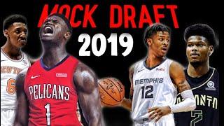 The Real 2019 NBA Mock Draft (1-14)