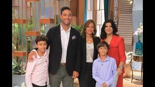 اللقاء الكامل مع عائلة ميدو في معكم منى الشاذلي     -