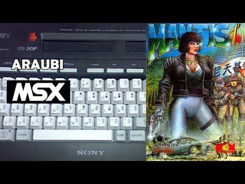 Mantis 1 (FX Software, 2016) MSX [729] Walkthrough Comentado