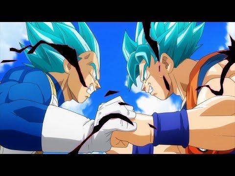 Dragon Ball Super NEW Deleted ENDING! [1080p HD] - Goku vs Vegeta Fight Scene Ending