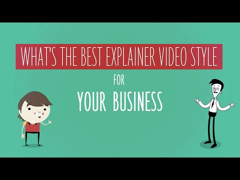 What is the best explainer video style for your business?