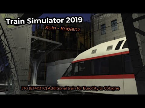JTG [ET403 IC] Additional train for EuroCity to Cologne -- Livestream 09/06/2019