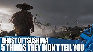 Ghost Of Tsushima - 5 Things They Didn't Tell You At The Showcase