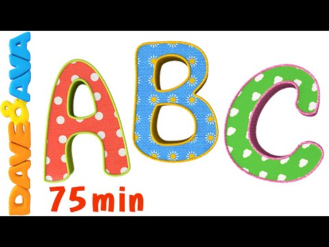 ABC Song |ABC Songs Plus More Nursery Rhymes! |Alphabet Collection and Baby Songs from Dave and Ava