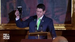 WATCH: President Trump and Speaker Ryan host Friends of Ireland luncheon