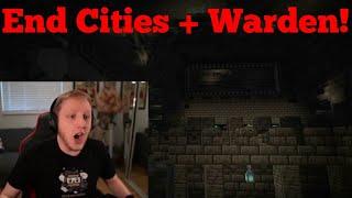 Philza Reacts To The Deep Dark! (Warden + Cities)