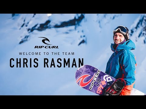 Welcome to the Rip Curl Team, Chris Rasman!