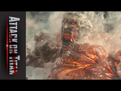 Attack on Titan Live Action Movie Official U.S. Trailer