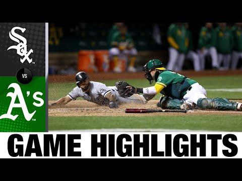 White Sox vs. A's Game Highlights (9/8/21)   MLB Highlights