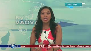 VAOVAO DU 16 MAI 2018 BY TV PLUS MADAGASCAR