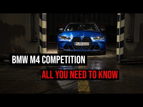 2021 BMW M4 Competition - Design and Engineering Workshop