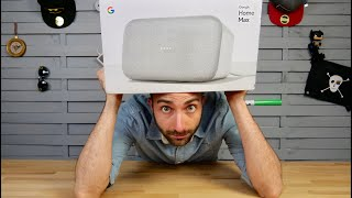 J'ai reçu Google Home Max ! (introuvable en France)