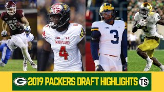 2019 Green Bay Packers Draft Highlights