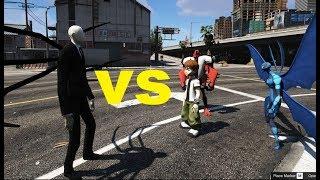 GTA 5 - Slenderman bắt Ben 10 (Ý tưởng Fan) | GHTG