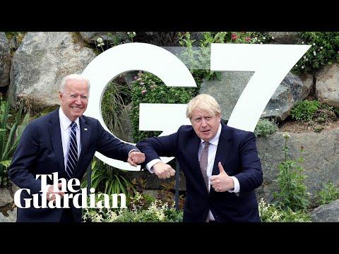 Joe Biden a 'breath of fresh air', says Boris Johnson after meeting