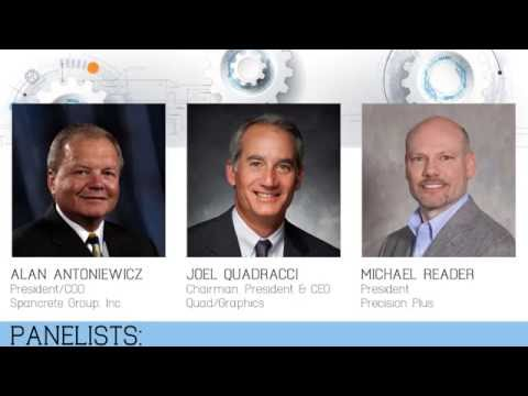 2016 Next Generation Manufacturing Summit - Panel Discussion